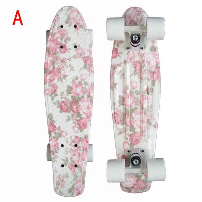 Penny Skateboard Multicolor Printing Penny Skateboard