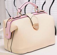 Hot Sale New 2014 Fashion Desigual Brand  fashion women's handbag vintage doctor bag portable for cross-body bag Q5