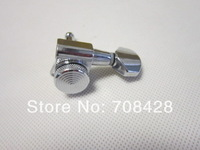 free shipping jinho locking tuner pegChrome Guitar Tuning Pegs Tuner Machine Heads with Lock Schaller Style In Stock