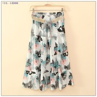 Fashion Bohemian skirts A-line Bohemian sashes freeshipping drop shipping+wholesale
