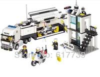 Kazi Police Truck Building Blocks Sets 511pcs Educational DIY Bricks Toys