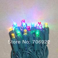 Free Shipping 30PCS UL 50L 5M Mashup Type Christmas LED Lights