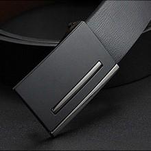 genuine leather belt promotion