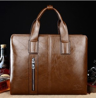 Free shipping new man bag shoulder bag handbag genuine business computer bag man bag Messenger bag file
