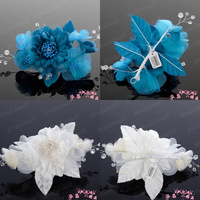 Exquisite Design 100% Handmade Free Shipping Hairwear With Pearls JO-017