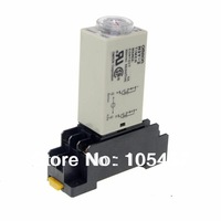 H3Y-2 Power On Time Delay Relay Solid-State Timer 1-30Min DPDT 8Pins&Socket 220VAC