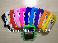 Lovely Penguin Soft Silicone Case Cover For Samsung Galaxy Pocket S5300 Back Cover Free Shipping Christmas Gift 1 Piece