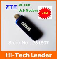 Free shipping unlocked ZTE MF668 3.5G USB Modem  hsdpa usb modem  21mbps ZTE 3g usb modem  HSPA  MODEM