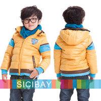 2014 New Boy Down Outerwear Kids Winter Clothing Warm Coats,Free Shipping  K3991