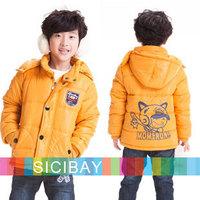 2014 Baby Boy Winter Down Jackets Kids Cotton Wadded Jacket Winter Outerwear,Free Shipping  K3993