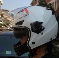 New Arrive Double Visor Half Face Motorcycle helmet  Helmet best sales Free Shipping
