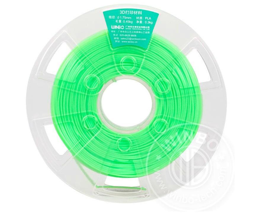 Пластмасса Winbo PLA filament-Green
