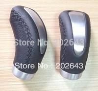 GV-GK6802 universal  black  gear shift knob for car auto PVC leather knob 9*6*5cm shift  knob jdm trd lighted hift knob momo