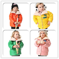 2013Baby Boy Girl Lamb Velvet Candy Color Jackets,Children's Winter Outerwear Coats,Children Warm Coat In Winter Jacket 4PCS/LOT