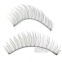 10 Pairs Handmade Natural Fashion black Long False Eyelashes Fake Eye Lashes Voluminous Makeup