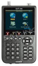 "Satlink WS-6909 3.5"" DVB-S & DVB-T Combo Signal Finder , WS 6909 Digial Satellite & Terrestrial Signal meter + Free shipping"
