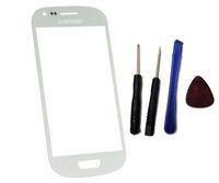 white Outer Glass Touch Screen toque de vidro pantalla tactil  For Samsung Galaxy S3 mini i8190