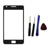black Outer Glass Touch Screen toque de vidro pantalla tactil  For Samsung Galaxy s2 i9100
