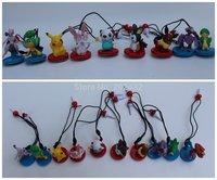 100pcs/lot original pokemon with dust cleaner and plug  9styles randomization mixed