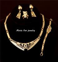 Daren Great Wall Grain Necklace Fashion Jewelry Set For Women 4pieces/set jewelry party jewelry Bridal Jewelry  DRSC807