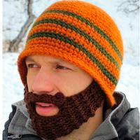 Winter Crochet Beard Beanie Mustache Mask Face Warmer Ski Hat Cap Christmas Gift Free Shipping