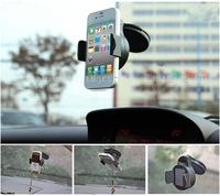 UNIVERSAL CAR WINDSHIELD MOUNT PHONE HOLDER CRADLE STAND KIT FOR All phones Mobile IPHONE GALAXY NEXUS