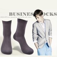 20pcs=10pairs/lot Men's cotton socks, high quality Business Casual male socks classic plain sock , color can choose, AEP59-M1301