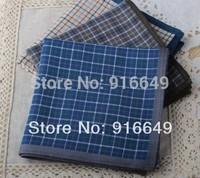 New cotton Men handkerchief, 43*43cm, 6pcs/lot, pure Cotton men Hanky/Handkerchief