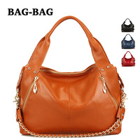 Promotion 2014 New Arrival Genuine Leather 1st layer cowhide handbag Women shoulder chains bag Totes Fashion Trends girl B359