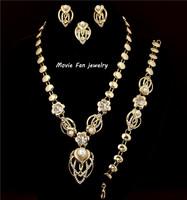Daren pearl Necklace Fashion Jewelry Set For Women 4pieces/set jewelry party jewelry Bridal Jewelry  DRSA514