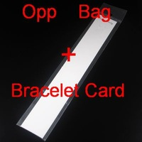 Min Order $5 (Mix Order) 100Sets White Opp Bag+Bracelet Card Jewelry Display Card Jewelry Packing Card
