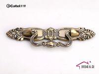 """Vintage Style Bronze Handle Cupboard Door Cabinet Drawer Knob Pulls 2.52"""" 64mm MBS058-1"""