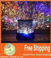 Christmas Gift Sky star projector Night light Star Master Amazing colorful Novelty LED Lamp Free Shipping 1pcs/lot
