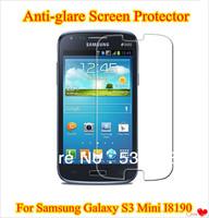 Matte Anti-glare Anti Glare Screen Protector Film For Samsung Galaxy S3 Mini I8190 With Retail Package