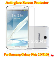 Anti-glare Screen Protector For Samsung Galaxy Note 2 II N7100 Matte Protective Film With Retail Package