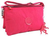 KP-022 hot newly handbag by china post 3zipper women messenger bag free shippping