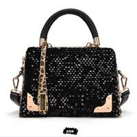 2014 New Women Messenger Bags Leopard Bag Brand Evening Handbag Women Causal Handbags Print Totes Fashion Shoulder Bag WB3000