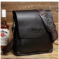 The new men's bags men cowhide single han edition inclined shoulder bag business real leather shoulder bag