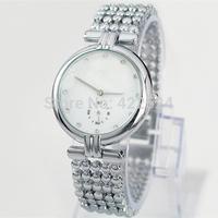 Hot sale Luxury dress watch with full diamond women watch  Stainless steel  lady Bracelet Wristwatch Noble Elegant clock gifts