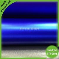 1.52*20m Premium Blue Metallic Matte Vinyl Car Film Sticker Wrap Vinyl For Car With Air Free Bubbles