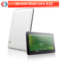 DHL free shipping 10 inch A20 Dual Core Tablet PC Android 4.2 1G 8G Dual Camera HDMI 5000mAh
