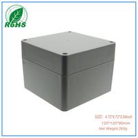 Free shipping abs enclosure box custom enclosures XDW01-40 Xindasz  4.72*4.72*3.54inch(120*120*90mm)