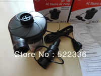 Cheap price! Free shipping New AC 220V Electric Air Pump Inflator/ Deflator with 3 diffrent Nozzles