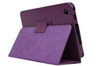A3000  Litchi veins Cover Case -- PU Leather protective stand cover case for Lenovo 7 inch tablet A3000-H  ideatab A3000