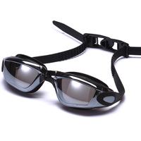 Profession cheap latest prescription mirror anti-fog speedo style racing funny swim goggles