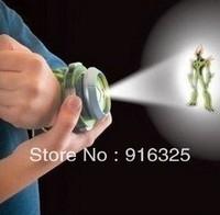1pcs Cartoon BEN 10 Kids Children Projector Watch Alien Force OMNITRIX Drop Shipping