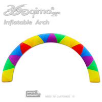 Nice design inflatable color matching arch