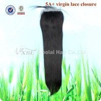 AAAAA+ Natural Unprocessed Human Hair Virgin Lace Closure