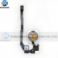 Original New Home Button Flex with + home botton complete for iPhone 5S 5GS Home Flex Cable Replacement Free Shipping