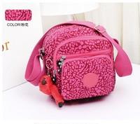 KP-033 Newly 2014 hot LADY CASUAL NYLON SHOULDER BAG women handbag free shipping